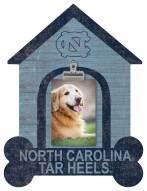 North Carolina Tar Heels Dog Bone House Clip Frame