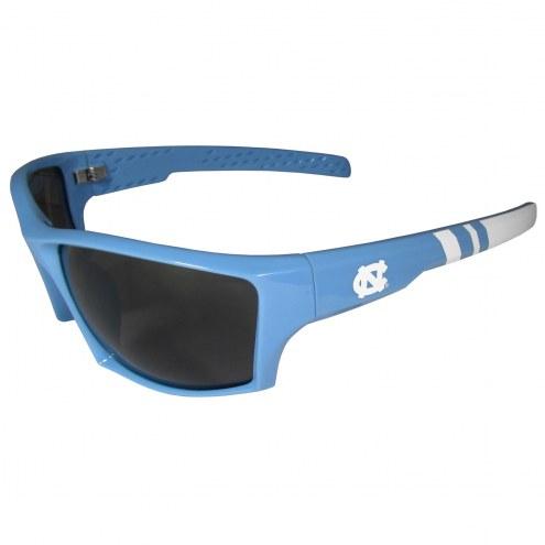 North Carolina Tar Heels Edge Wrap Sunglasses