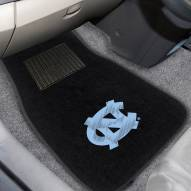 North Carolina Tar Heels Embroidered Car Mats