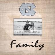 North Carolina Tar Heels Family Picture Frame