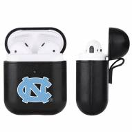 North Carolina Tar Heels Fan Brander Apple Air Pods Leather Case
