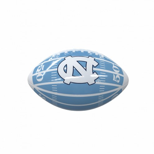 North Carolina Tar Heels Field Mini Glossy Football