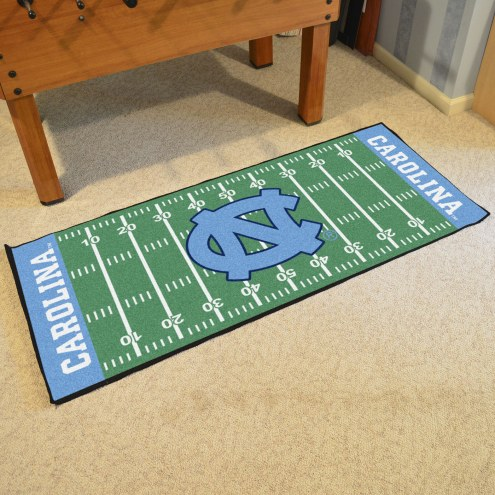 North Carolina Tar Heels Football Field Runner Rug
