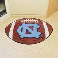 North Carolina Tar Heels Football Floor Mat