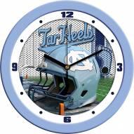 North Carolina Tar Heels Football Helmet Wall Clock