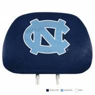 North Carolina Tar Heels Full Print Headrest Covers