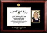 North Carolina Tar Heels Gold Embossed Diploma Frame with Portrait
