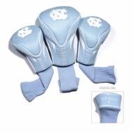 North Carolina Tar Heels Golf Headcovers - 3 Pack