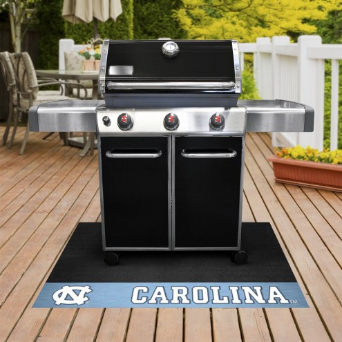North Carolina Tar Heels Grill Mat