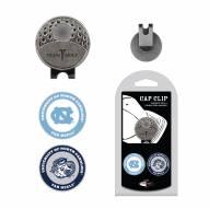 North Carolina Tar Heels Hat Clip & Marker Set