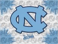 North Carolina Tar Heels Logo Canvas Print