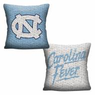 North Carolina Tar Heels Invert Woven Pillow