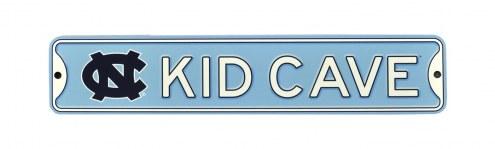 North Carolina Tar Heels Kid Cave Street Sign