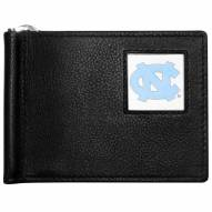 North Carolina Tar Heels Leather Bill Clip Wallet