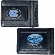 North Carolina Tar Heels Leather Cash & Cardholder