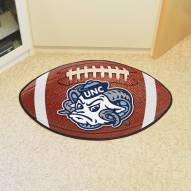North Carolina Tar Heels Logo Football Floor Mat