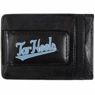 North Carolina Tar Heels Logo Leather Cash and Cardholder