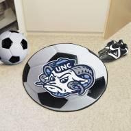 North Carolina Tar Heels Logo Soccer Ball Mat