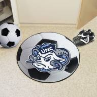 North Carolina Tar Heels Logo Soccer Ball Mat
