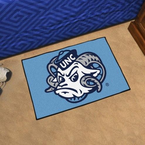 North Carolina Tar Heels Logo Starter Rug