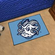 North Carolina Tar Heels Logo Starter Rug