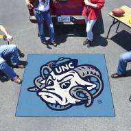 North Carolina Tar Heels Logo Tailgate Mat