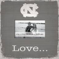 North Carolina Tar Heels Love Picture Frame