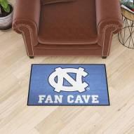 North Carolina Tar Heels Man Cave Starter Mat