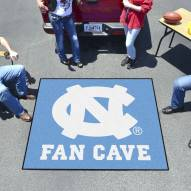North Carolina Tar Heels Man Cave Tailgate Mat