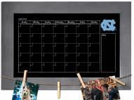 North Carolina Tar Heels Monthly Chalkboard with Frame
