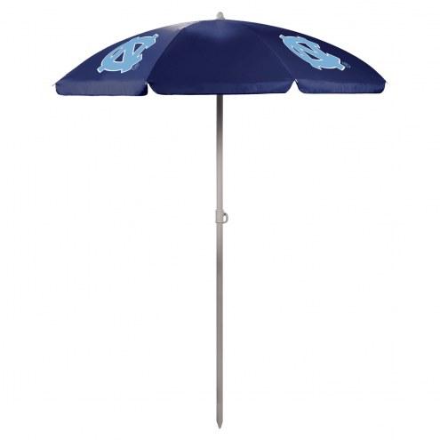 North Carolina Tar Heels Navy Beach Umbrella