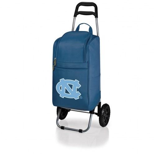 North Carolina Tar Heels Navy Cart Cooler
