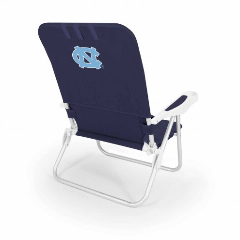 North Carolina Tar Heels Navy Monaco Beach Chair