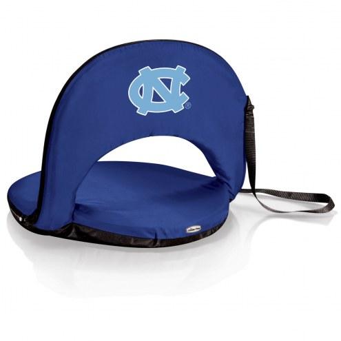 North Carolina Tar Heels Navy Oniva Beach Chair