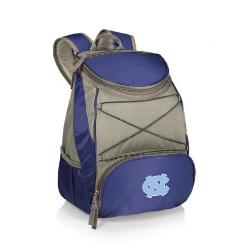 North Carolina Tar Heels Navy PTX Backpack Cooler