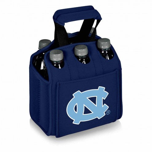 North Carolina Tar Heels Navy Six Pack Cooler Tote