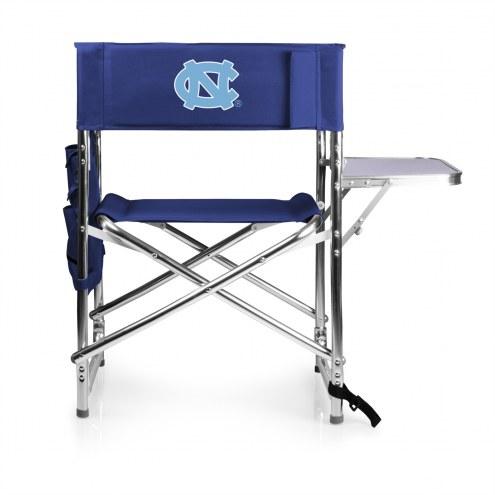 North Carolina Tar Heels Navy Sports Folding Chair