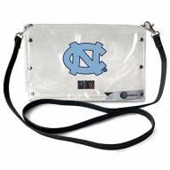 North Carolina Tar Heels Clear Envelope Purse