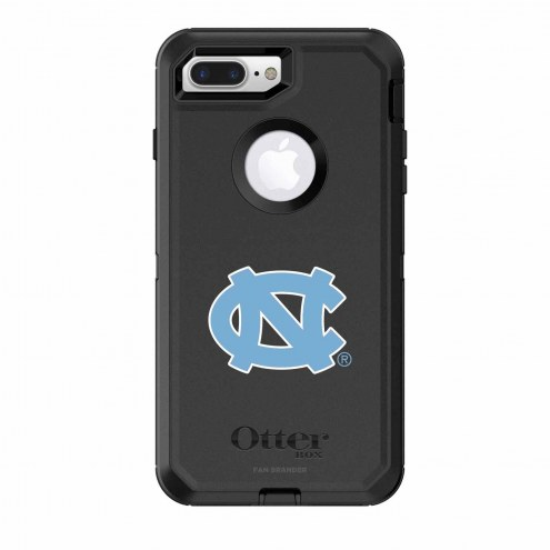 North Carolina Tar Heels OtterBox iPhone 8 Plus/7 Plus Defender Black Case