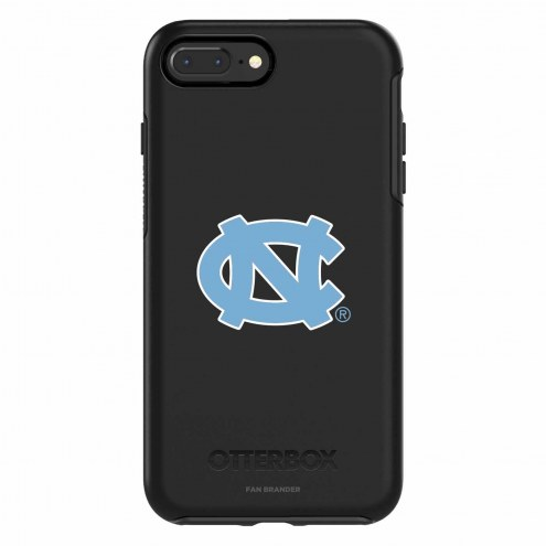 North Carolina Tar Heels OtterBox iPhone 8 Plus/7 Plus Symmetry Black Case