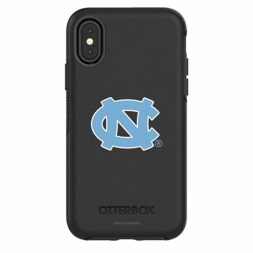 North Carolina Tar Heels OtterBox iPhone X Symmetry Black Case