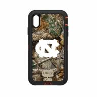 North Carolina Tar Heels OtterBox iPhone XS Max Defender Realtree Camo Case