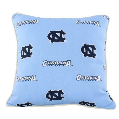 North Carolina Tar Heels Outdoor Decorative Pillow