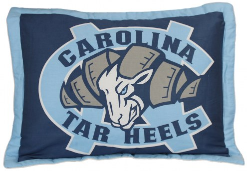 North Carolina Tar Heels Printed Pillow Sham