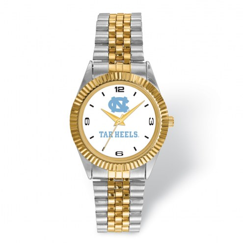 North Carolina Tar Heels Pro Two-Tone Gents Watch