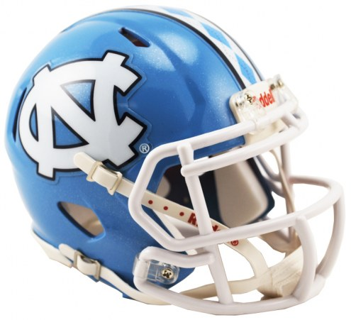 North Carolina Tar Heels Riddell Speed Mini Collectible Football Helmet