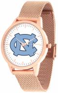 North Carolina Tar Heels Rose Mesh Statement Watch