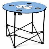 North Carolina Tar Heels Round Folding Table