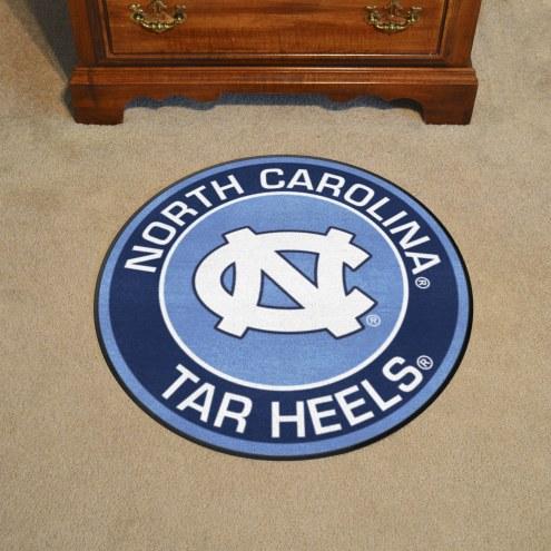 North Carolina Tar Heels Rounded Mat