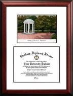 North Carolina Tar Heels Scholar Diploma Frame
